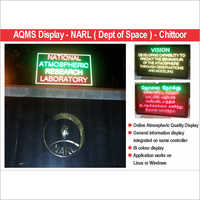 LED Aaqms Display Board