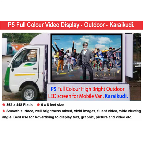 LED Mobile Truck Display