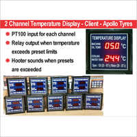 Temperature Monitoring Display
