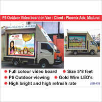 Vehicle Mounted LED Video Displays