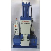 Milling / Hobbing Chips & Grinding Chip Compactor - Vertical Chip Compactor - Ecomax Models