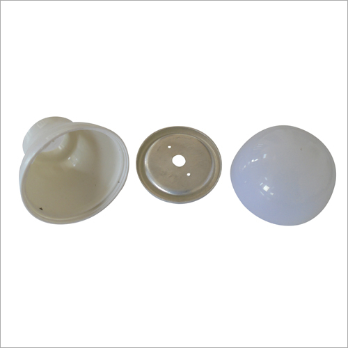 57 mm LED Bulb Plastic Housing