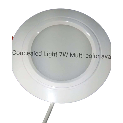 7 W Concealed Circular Light