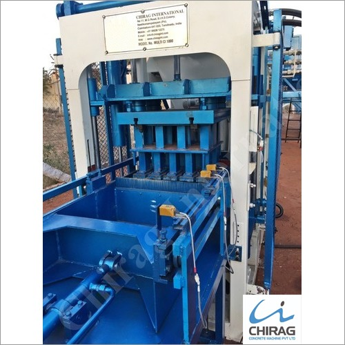 Chirag High Grade Block Machine