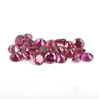 4mm Natural Purple Rhodolite Garnet Faceted Round Gemstone