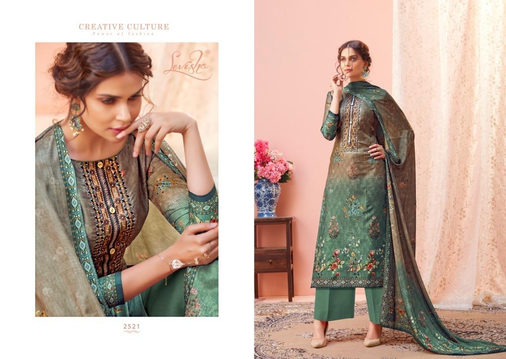 Fancy Digital Printed Silk Suits