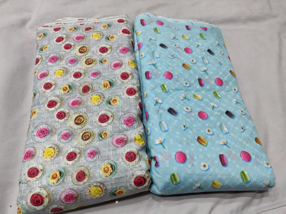 Colorful Digital Printed Fabric