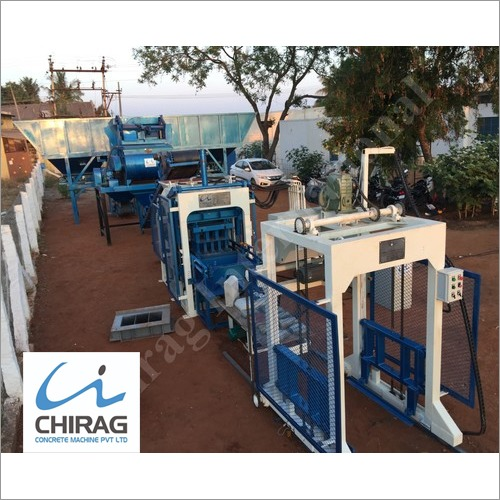 Chirag Simple and Easy Operating Multifunction Block Machine