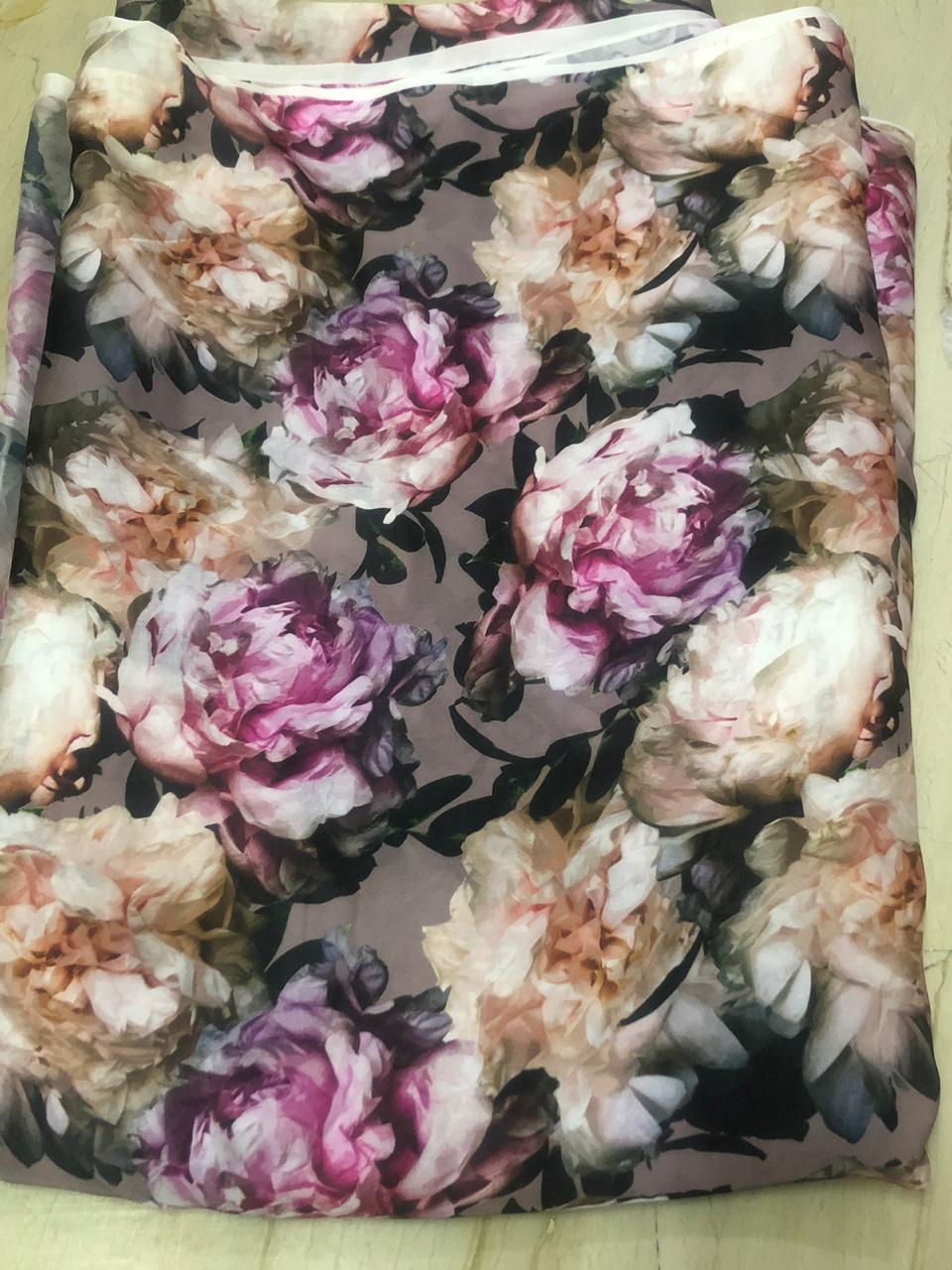 Modern Digital Printed Fabric