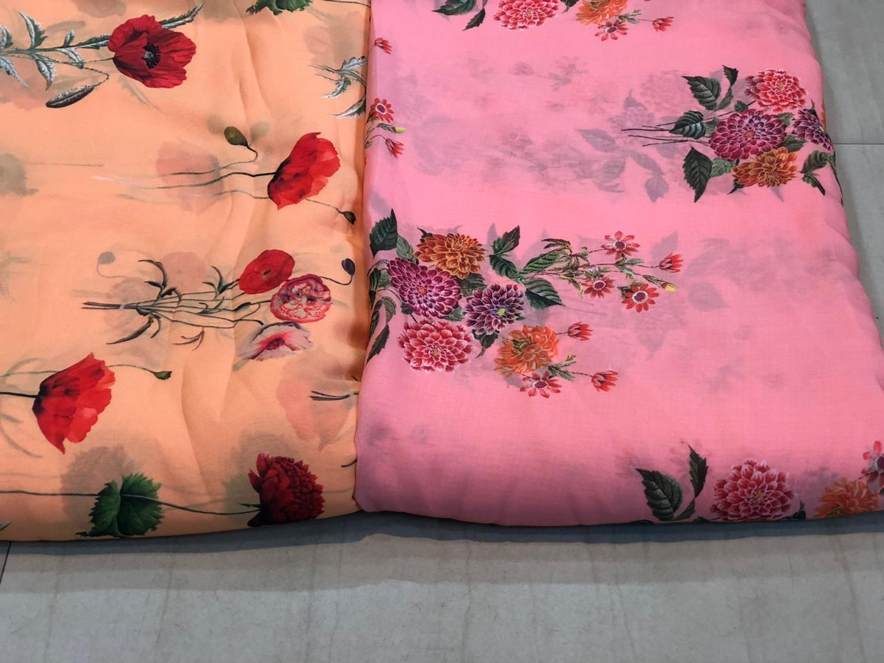 Digital Printed Polyester Fabric