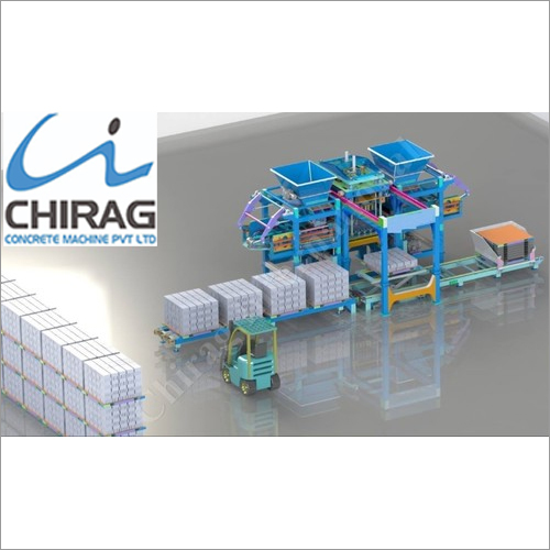 Multifunction Chirag Pallet Free Hollow Block Making Machine