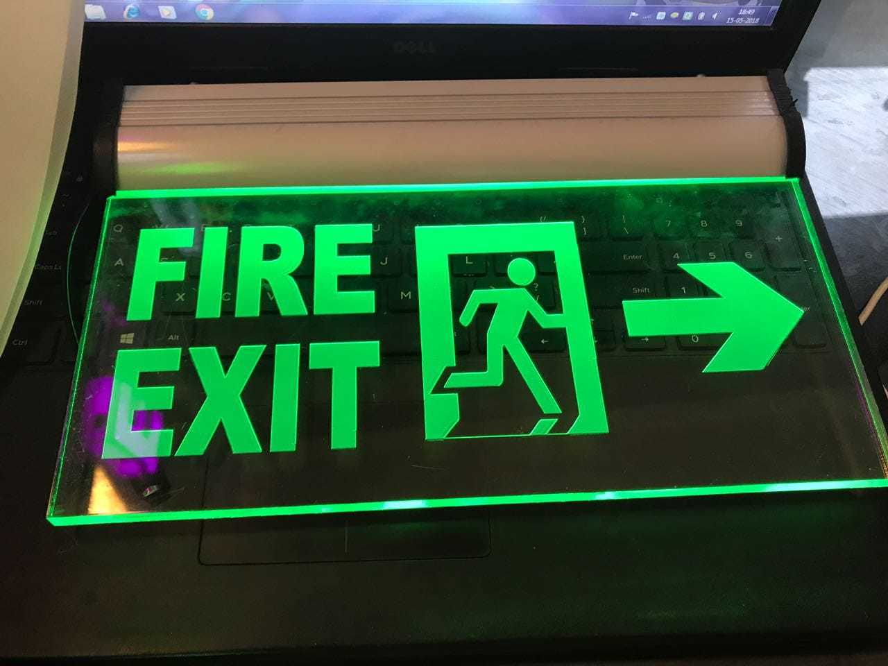 LED Exit Light Hanging Type