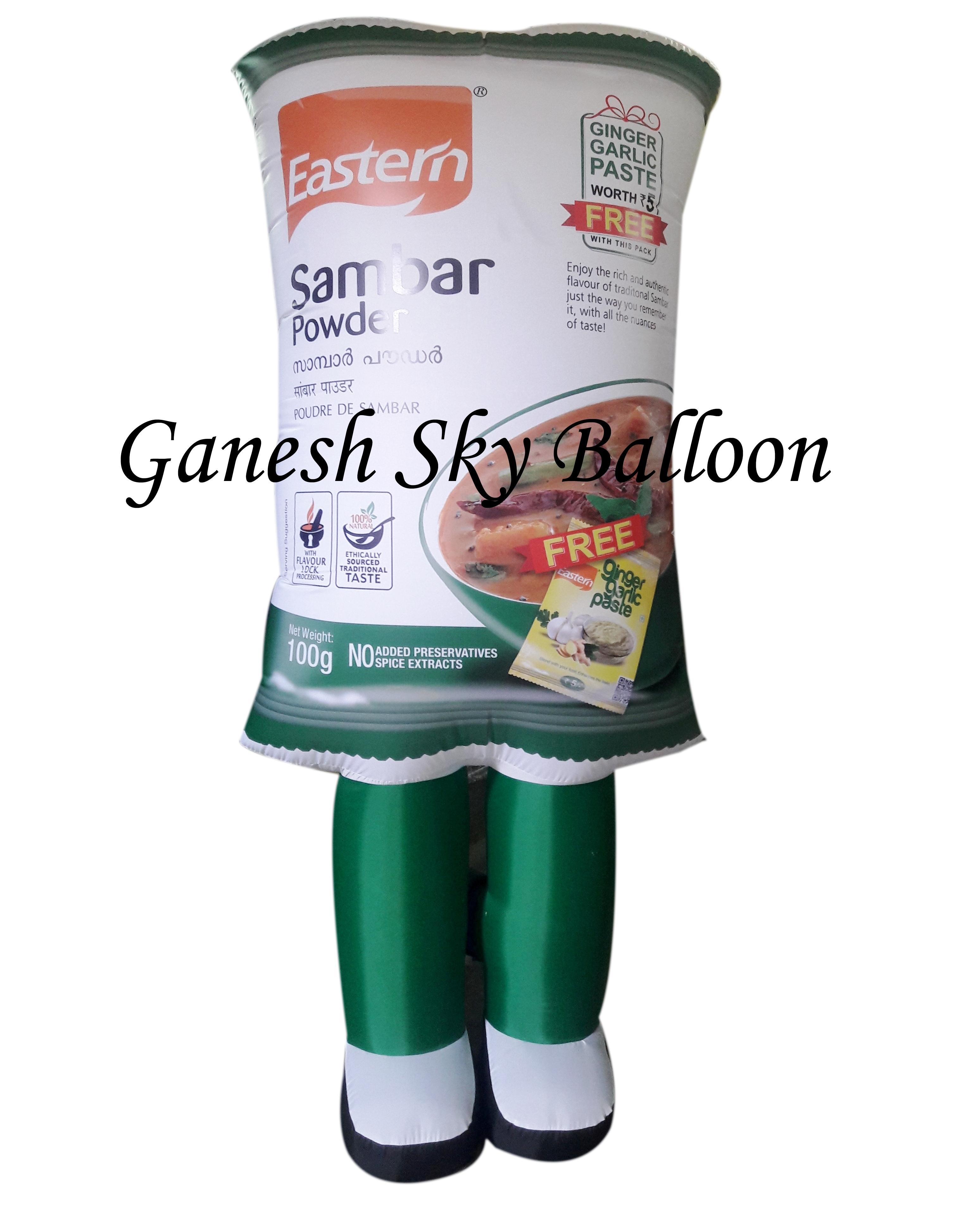 Advertisement Walking Inflatable
