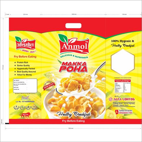 Nutrition Makka Poha