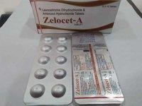 Levocetirizine +Ambroxol