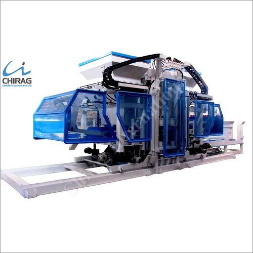Chirag Hi-Technology Interlocking Block Making Machine