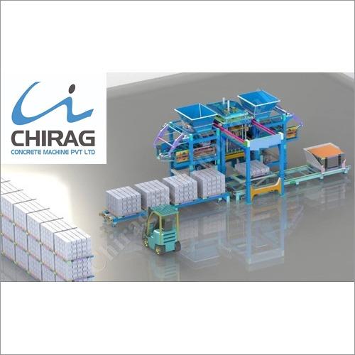 Chirag Powerful Performance Concrete Block Machine