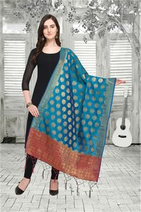 Wedding Banarasi Dupatta with Tassels