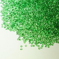 2.25mm Natural Green Garnet Faceted Round Cut Gemstone