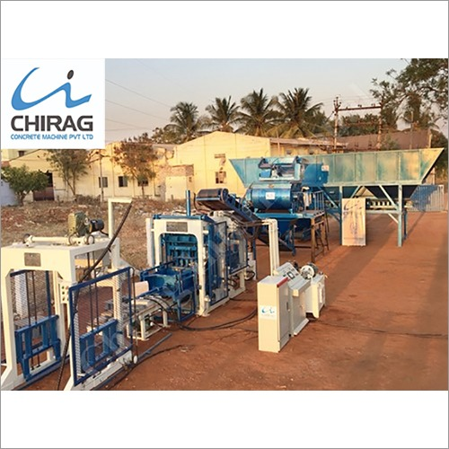 Multifunction Chirag Next-Gen Concrete Block Making Machine