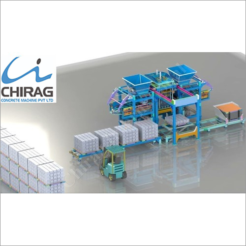 Multifunction Chirag Next-Gen Paver Block Making Machine