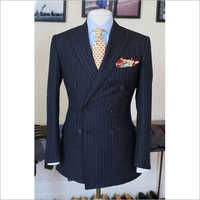 Mens Striped Blazer