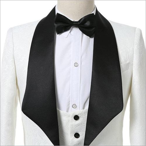 Mens White Tuxedo Blazer