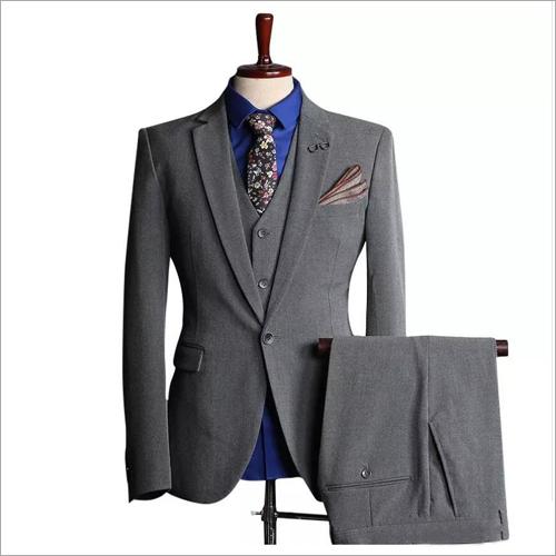 Mens Plain Tuxedo Suit