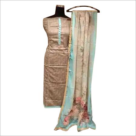 Ladies Semi Stitched Designer Partywear Suit