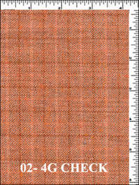 4G CHECK Fabric