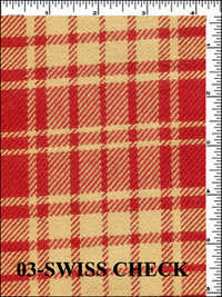 SWISS CHECK Fabric