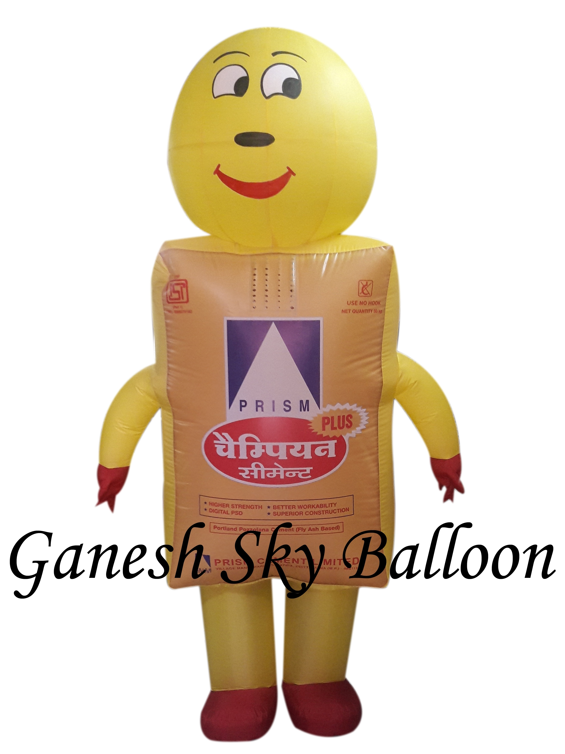 BJP Inflatable Costume