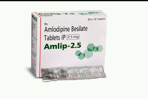 Amlodipine besilate tablets ip