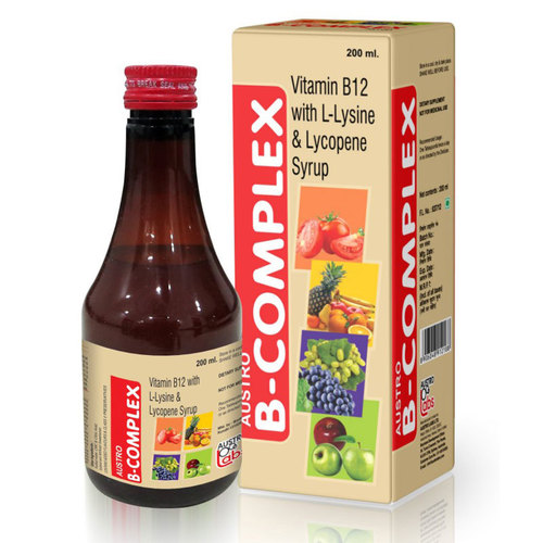 B Complex Syrups