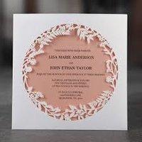 WEDDING CARD DIES
