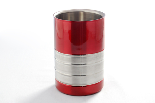 Coloured wine cooler