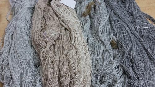 Wool Viscose Blend Carpet Yarn