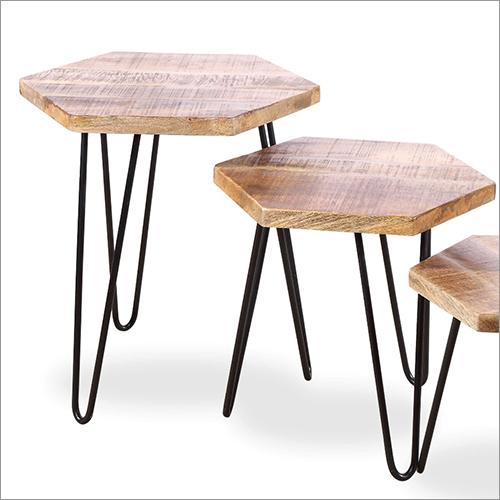 Antique Iron Wood Set