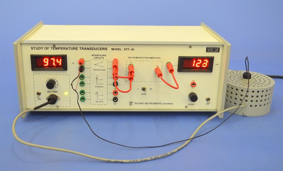 Study of Temperature Transducers (STT-01)