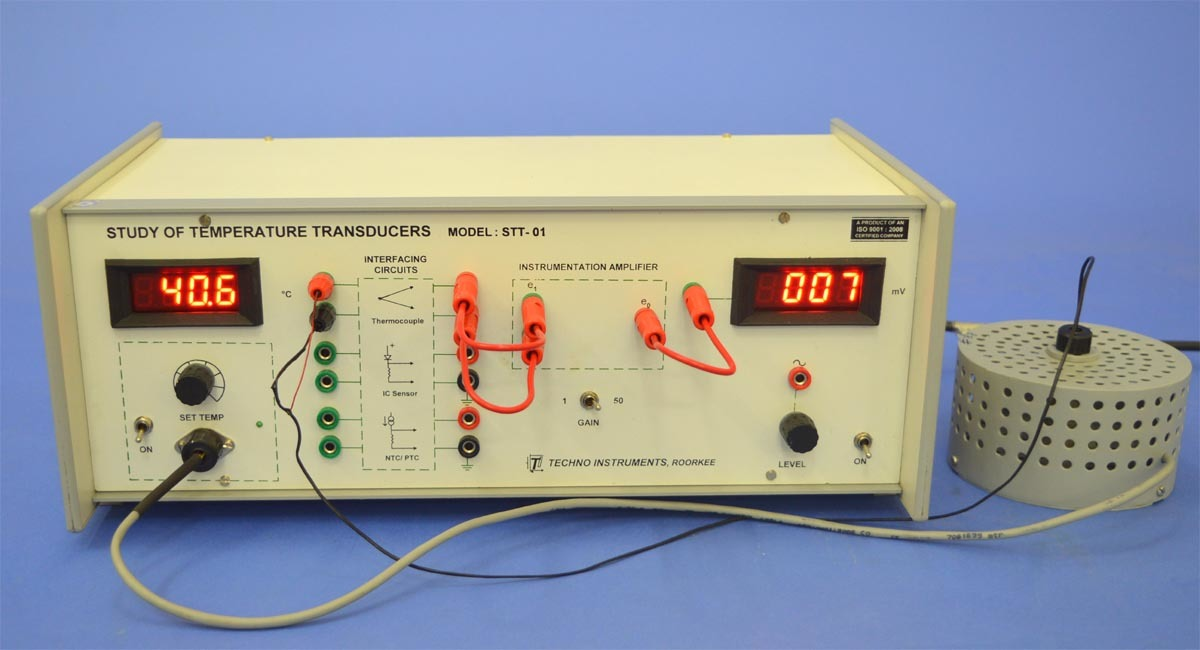 Study of Temperature Transducers (STT-01)