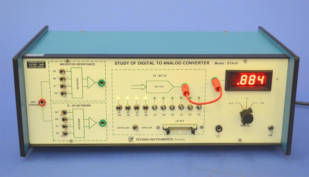 Study Of Digital-to-Analog Converter, DTA-01