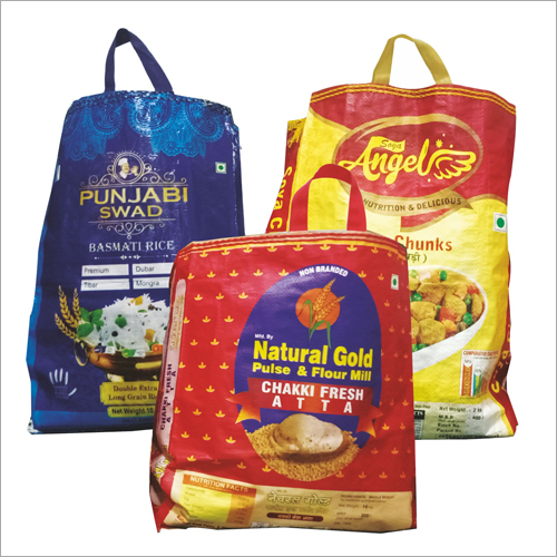 10 kg Handle Packaging Bag