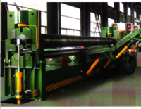 W11 Upper roller universal plate rolling machine for trailer