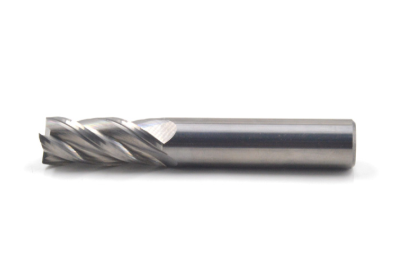 Solid carbide 4F flat end mill
