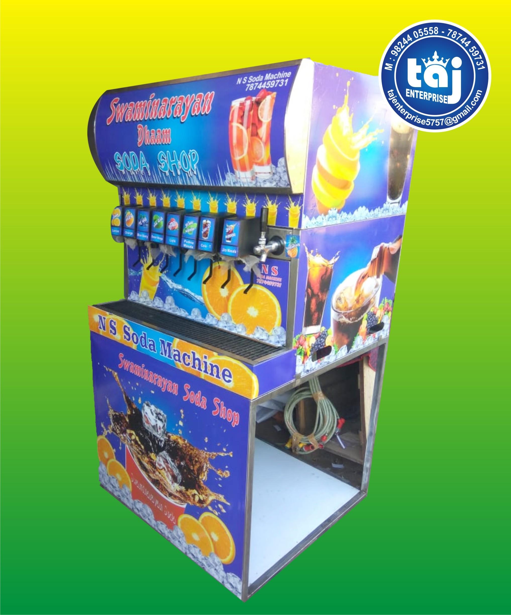 Taj 12+2 Soda Machine