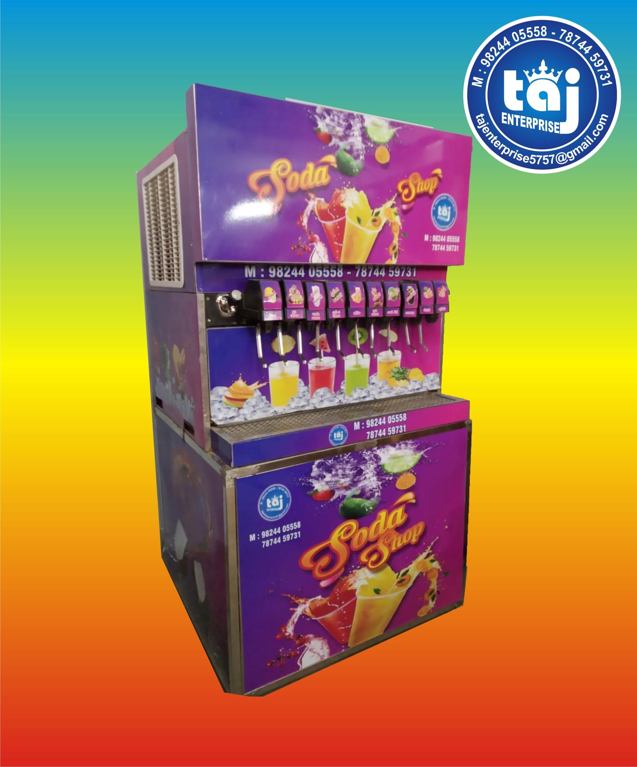 12 Flavor Soda Machine