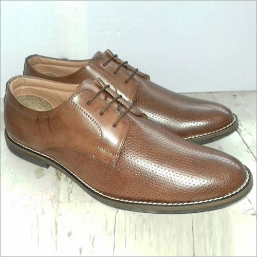 Mens Synthetic Leather Shoe