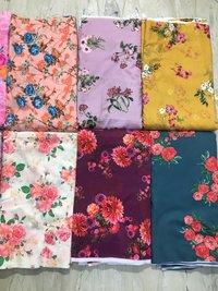 Chanderi  Printed Fabric
