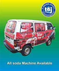Mini Van Soda Machine