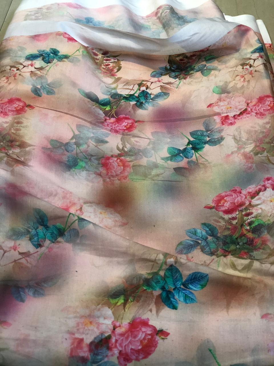 Chiffon Digital Printed Fabric